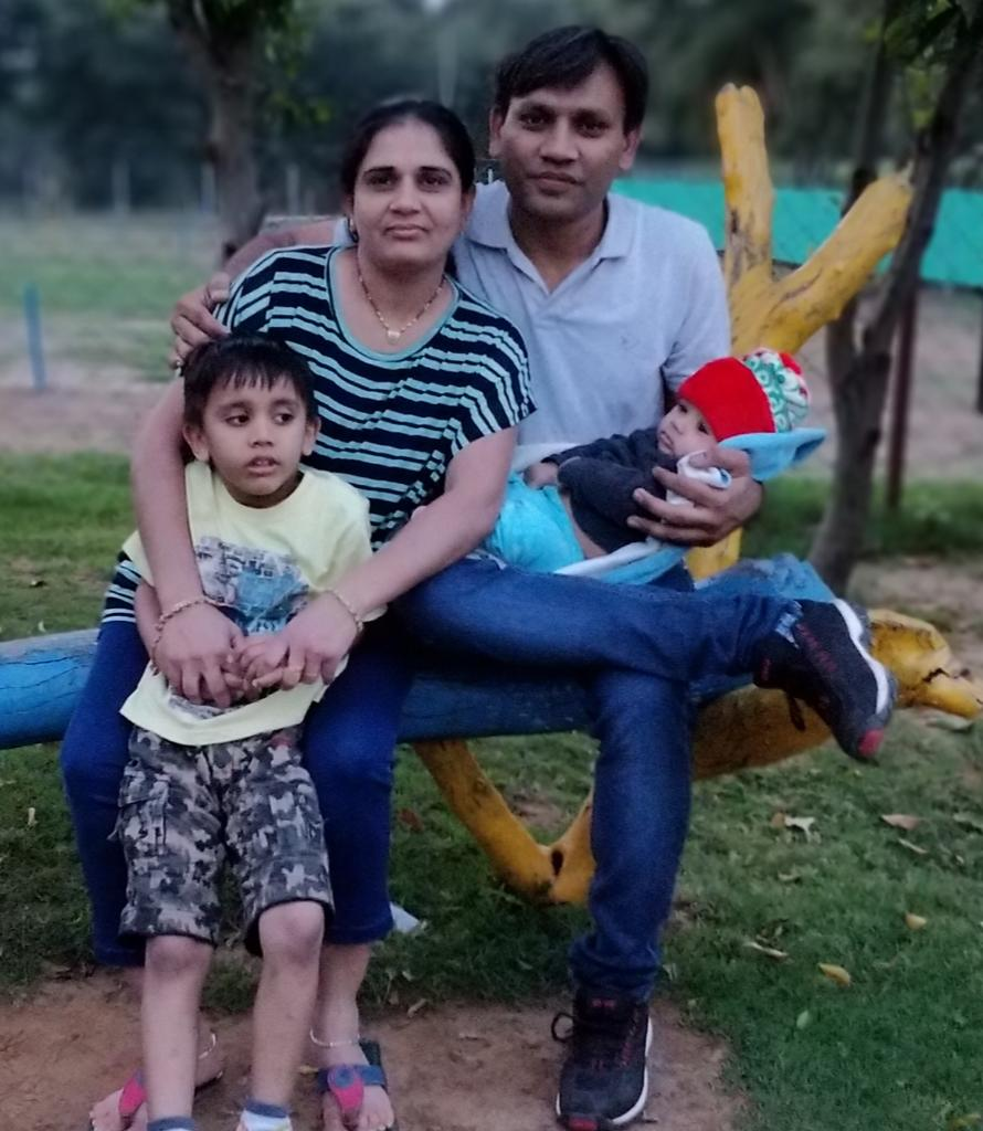Brijesh Patel and Family