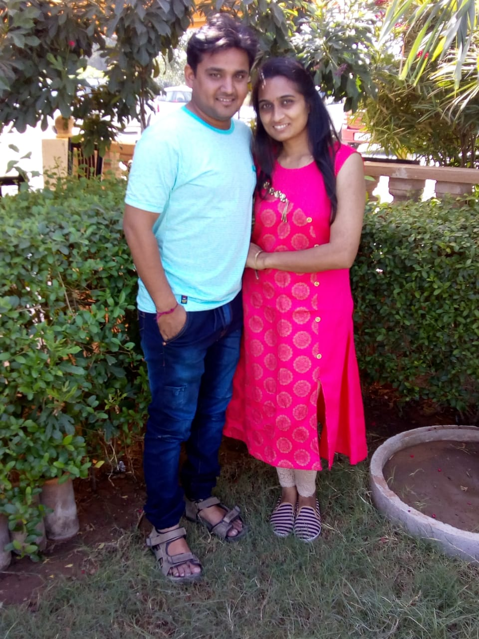 Hiren Patel and Family